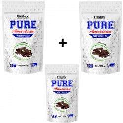 FITMAX PURE AMERICAN WHEY PROTEIN 750 GRAM CHOCOLATE (BUNDLE X 3 BAGS)